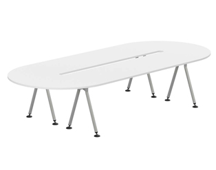 D Ended Boardroom Tables