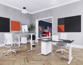 Unite Plus Single Sit/Stand Desks