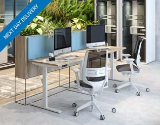Unite Single Sit/Stand Desks