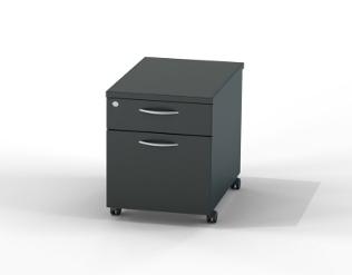 Black Office Storage