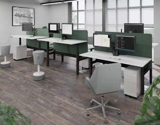 Unite Plus Twin Sit/Stand Desks