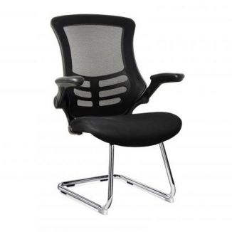 Lugo Mesh Visitor Chair - Cantilever Base