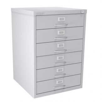6 Drawer F Series - Classic Front - Light Grey