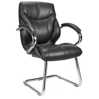 Byron Leather Meeting Chair