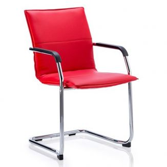 Melville Meeting Chair - Red