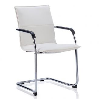 Melville Meeting Chair - White