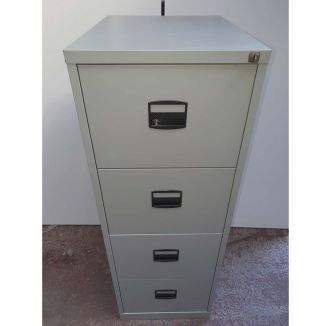 Second Hand Four Drawer Filing Cabinets