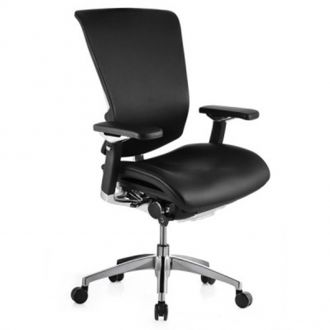 Nefil Chair in Leather