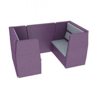 4 Seater Meeting Pod - Side Panels