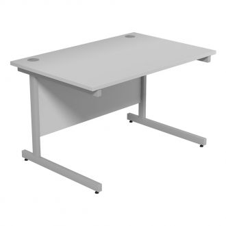 Dusk Office Desk - Cantilever Frame