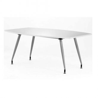 White High Gloss Boardroom Table