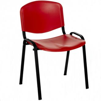 Plastic Flipper Chair - Red