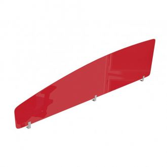 Acrylic Desk Screen - Curved - 380mm