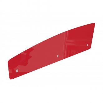 Acrylic Desk Screen - Curved - 500mm