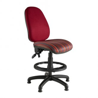 Large Draughtsman Chair with High Back