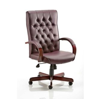 Chesterfield Leather Executive Chair