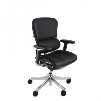 Ergohuman Plus Office Chair in Black Leather