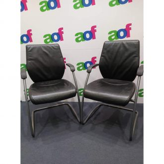 Second Hand Giroflex G68 Visitor Chairs - Set of 2