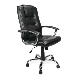 Milton Leather Executive Office Chair - High Back