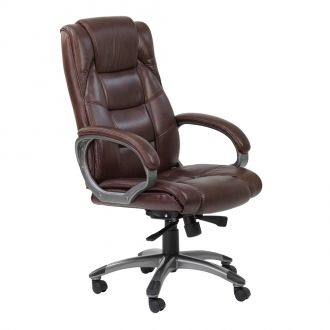 Northland Brown Leather Executive Chair