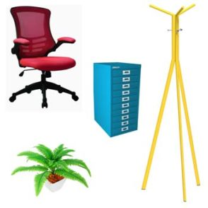 Add a Splash of Colour to Your Office!